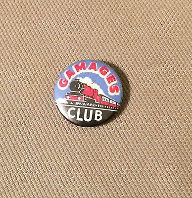 Gamages Train Club Badge