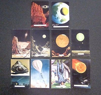 Weet-Bix  Rare 1959 Destination Moon 10 Of 50 Weetbix Picture Plates
