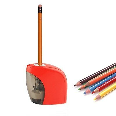 Pencil Sharpener Electric Automatic Battery Personal Home Desktop Office School