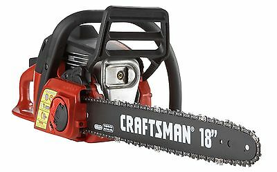 """Craftsmen 18"""" Petrol Chainsaw """"New In box"""" Carry case Included"""