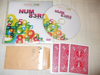 NUM83R5 card trick by RUS ANDREWS