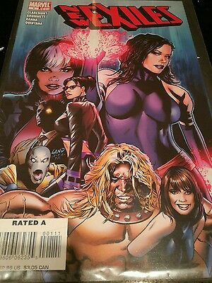 New Exiles #1 First Issue: Marvel comics: X-Men Claremont Wolverine