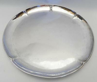 "American Arts and Crafts Sterling Silver Tray  ""Art Silver Shop""  Chicago"