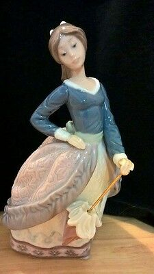 Lladro Figurine Evita # 5212 Girl / Parasol Retired Perfect Boxed