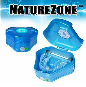 Nature Zone 200DIS Oral Appliance Ozone Sanitizer-Deodorizer - Blue,