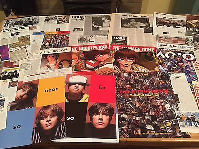 The Stone Roses -(Ian Brown)-Cuttings/ Clippings