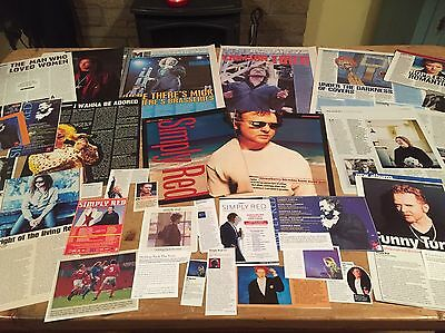 Simply Red - (Mick Hucknall)-Cuttings/ Clippings