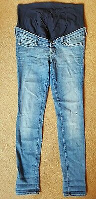H&M Hennes over bump maternity jeans. Size 12