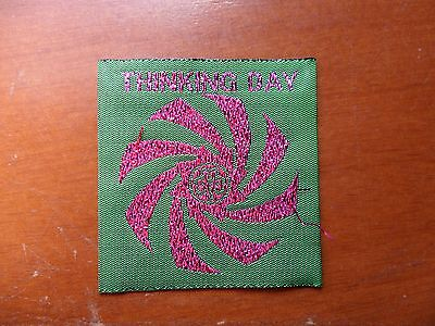 Girl Guides Australia Thinking Day Green and Purple Cloth Badge #