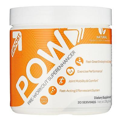 NEW EBOOST POW Natural Pre-Workout Powder Better Exercise Joint Energy Unisex