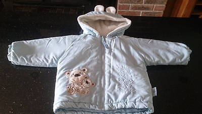 Baby Boys Fully Lined Jacket by Antarctica - Age 9 - 12 Months