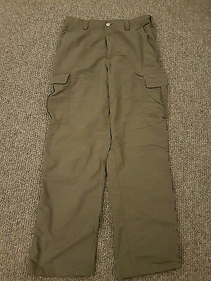 "North Face mens cargo trekking trousers (31"")"