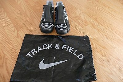 NEW Mens Nike Zoom LJ 4 Long Jump Spikes Shoes 11  Black WHIITE 415339-002
