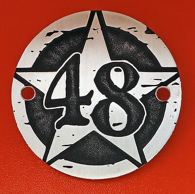 Couvercle allumage pour Harley - Sportster - point cover - 48 - forty eight