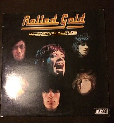 "The Rolling Stones ‎– 'Rolled Gold' 2x12"" vinyl Double Album LP. 1975 UK VGC"