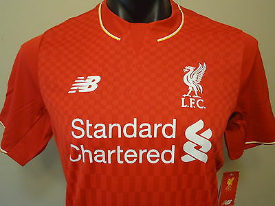 Liverpool Official Licensed Home Jersey 2015/2016 Mens Small New
