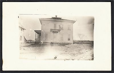 Great Bend Indiana House Real Photo Postcard RPPC 1910s-1920s