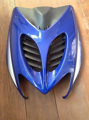 Yamaha Aerox 50cc front panel blue with grill