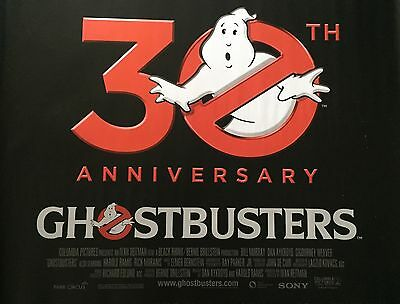 Ghostbusters 30th Anniversary Original UK Cinema Quad Poster