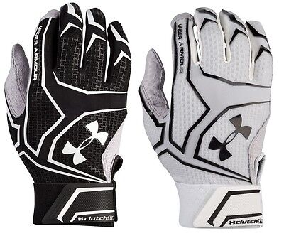 Under Armour Men's UA Yard ClutchFit Baseball Softball Batting Gloves Adult