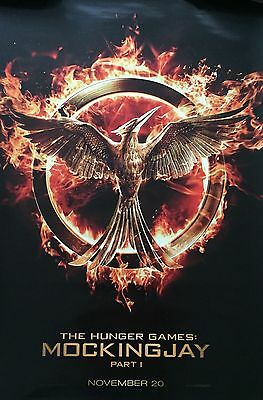 The Hunger Games Mockingjay Original US One Sheet Style Cinema Quad Poster