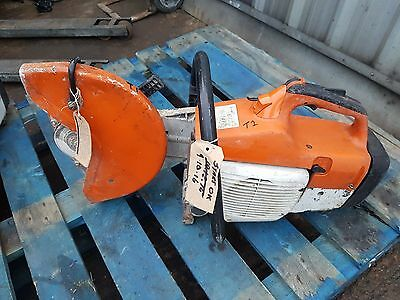 Stihl TS400 petrol cut off consaw grinder spinner slab cutter saw
