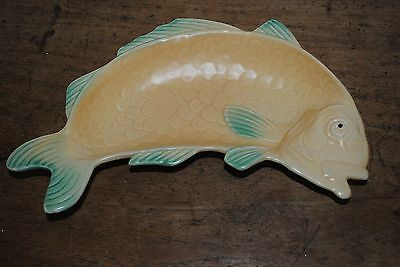 Vintage Shorter & Sons curved fish serving dish / excellent condition
