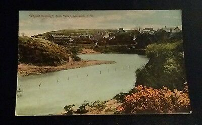 VINTAGE POSTCARD - SOCH VALLEY, ABERSOCH - EARLY 1900's