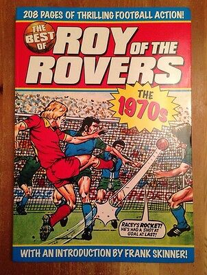 The Best Of Roy Of The Rovers: The 1970s (Titan Books, Vintage Comic Strips) VGC
