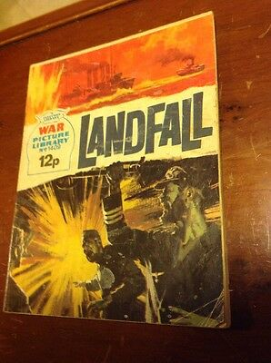 War Picture Library No.1409 Landfall Comic