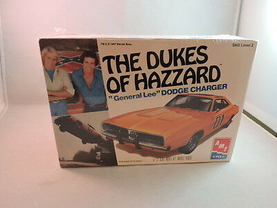 1997 Dukes Of Hazzard General Lee Ertl plastic model kit, MIB, NRFB