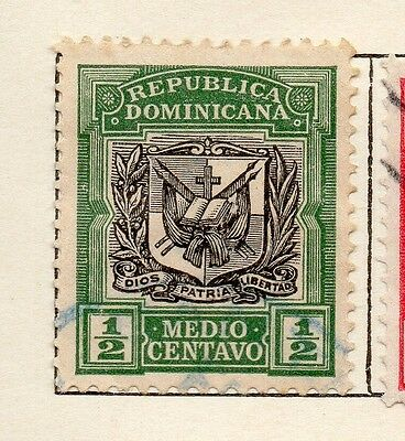 Dominican Republic 1907 Early Issue Fine Used 1/2c. 121858