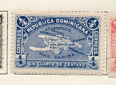 Dominican Republic 1900 Early Issue Fine Mint Hinged 1/4c. 121882
