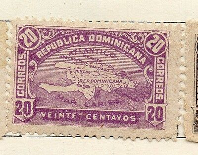Dominican Republic 1900 Early Issue Fine Mint Hinged 20c. 121888