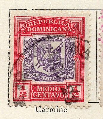 Dominican Republic 1901 Early Issue Fine Used 1/2c. 121891