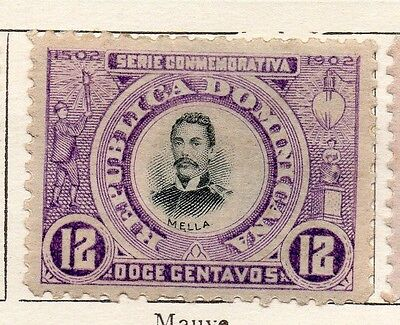 Dominican Republic 1902 Early Issue Fine Mint Hinged 12c. 121902