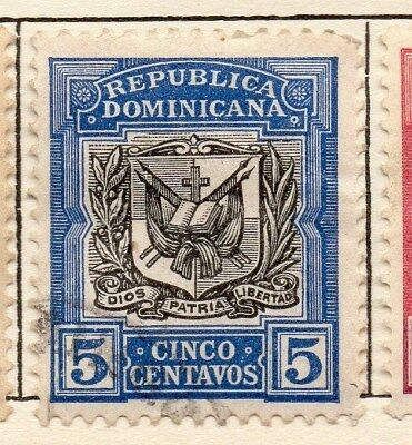 Dominican Republic 1906 Early Issue Fine Used 5c. 121925
