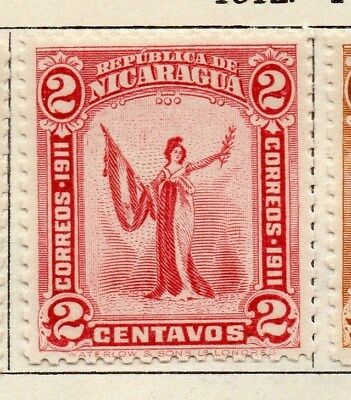 Nicaragua 1912 Early Issue Fine Mint Hinged 2c. 122151