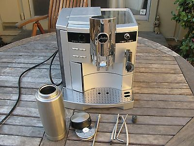 JURA  IMPRESSA S9 AVANGARDE  Espresso Machine w MILK CONTAINER - SOLD AS IS