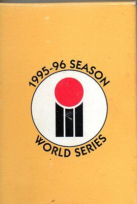 1995-96 Season Cricket Card Set Of 70 World Series Playing Cards In Pack