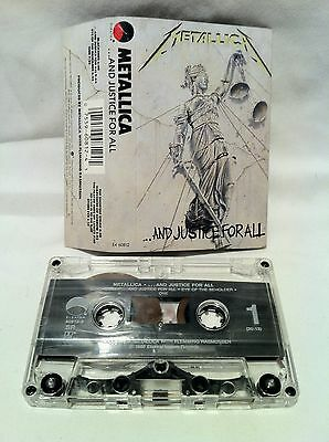 METALLICA ...And Justice For All CASSETTE Tape US