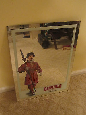 "Beefeater Gin Mirror Large 18 x 25"" for your Bar, Mancave or Den"