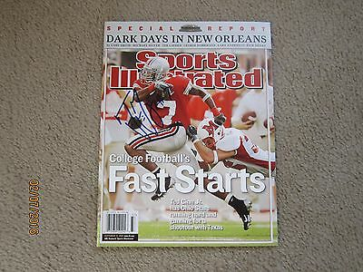 Ted Ginn Jr Signed Sports Illustrated Ohio State Football Carolina Panthers Sb
