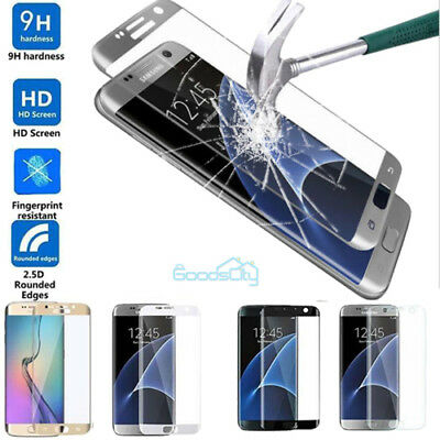 9H+Full Cover Curved Tempered Glass Screen Protector For Samsung Galaxy S7 Edge