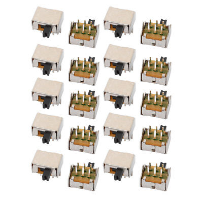 20Pcs 2 Position 6P DPDT Micro Slide Switch Latching Digital Product Switch