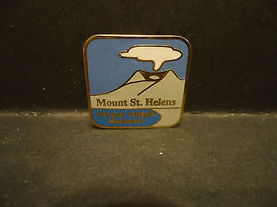 Mount St Helens National Volcanic Monument Lapel Hat Pin