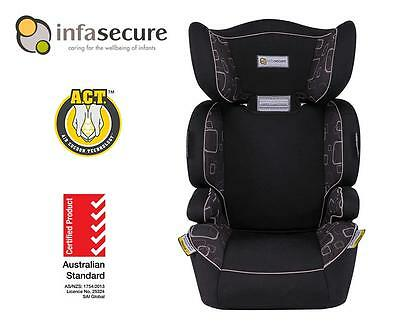New Infa Secure Ventura Adjustable Booster Car Seat 4-8 years Kid Child Infant