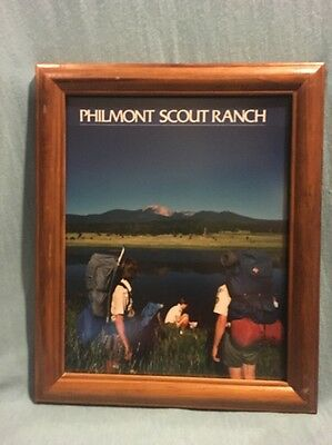 Vintage BSA Official Philmont Scout Ranch Thanks For Your Support 1987 Photo