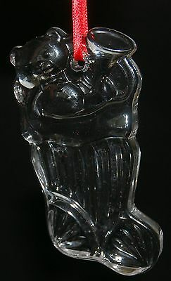 Gorham Stocking Ornament Style No. 659 Leaded Crystal
