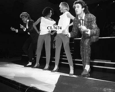 George Michael, Andrew Ridgeley Helen DeMacque and Shirlie Holliman Photo